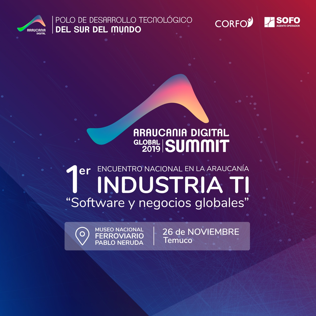 Araucanía Digital Global Summit 2019