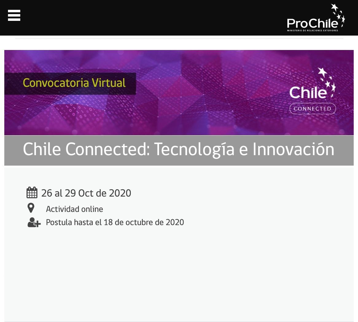 Chile Connected - Tecnología e Innovación