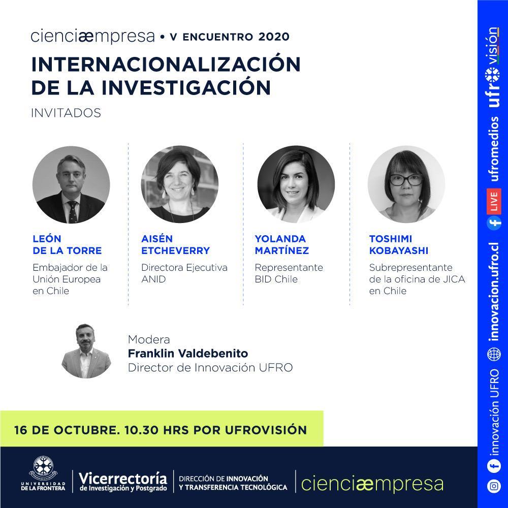 CienciaEmpresa - V Encuentro 2020