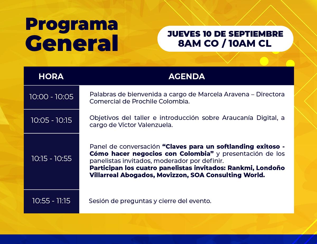 Cómo hacer negocios con Colombia - Programa