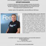 Cofundador Waze - Emprender en crisis - claves para aprovechar oportunidades