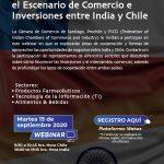 Fortaleciendo y Profundizando el Escenario de Comercio e Inversiones entre India y Chile