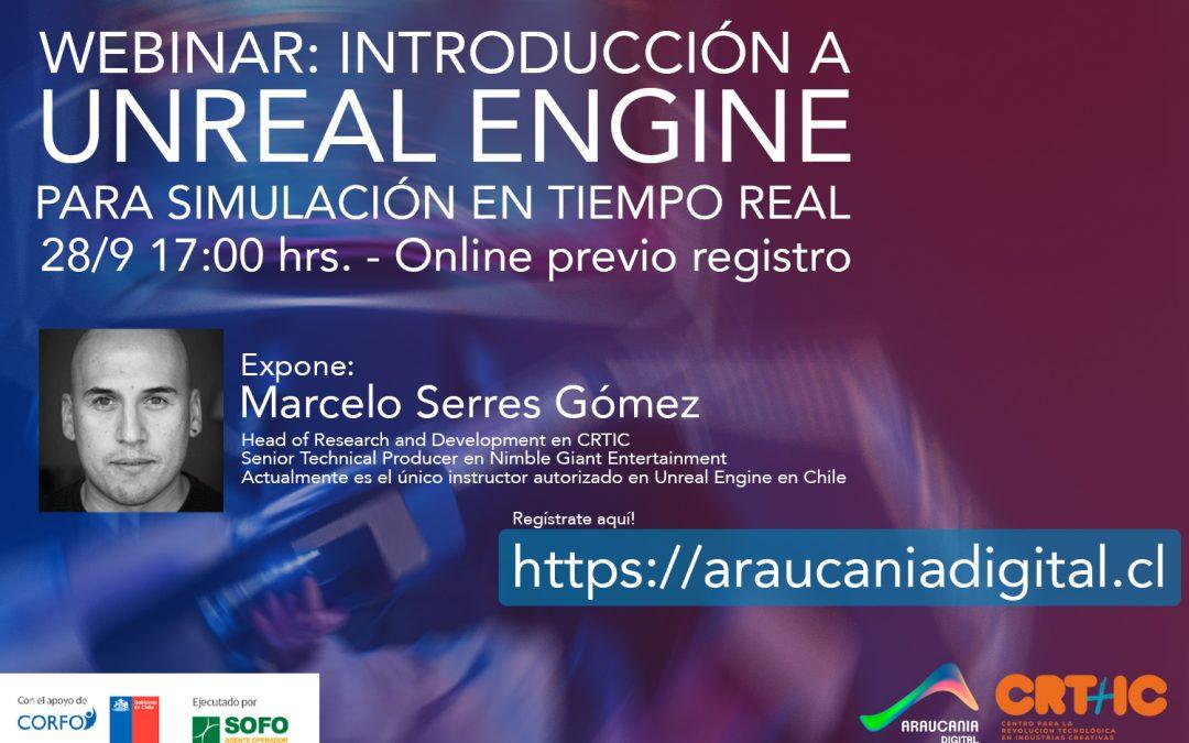WEBINAR: INTRODUCCIÓN A UNREAL ENGINE