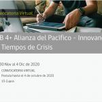LAB 4+ Alianza del Pacífico – Innovando en Tiempos de Crisis