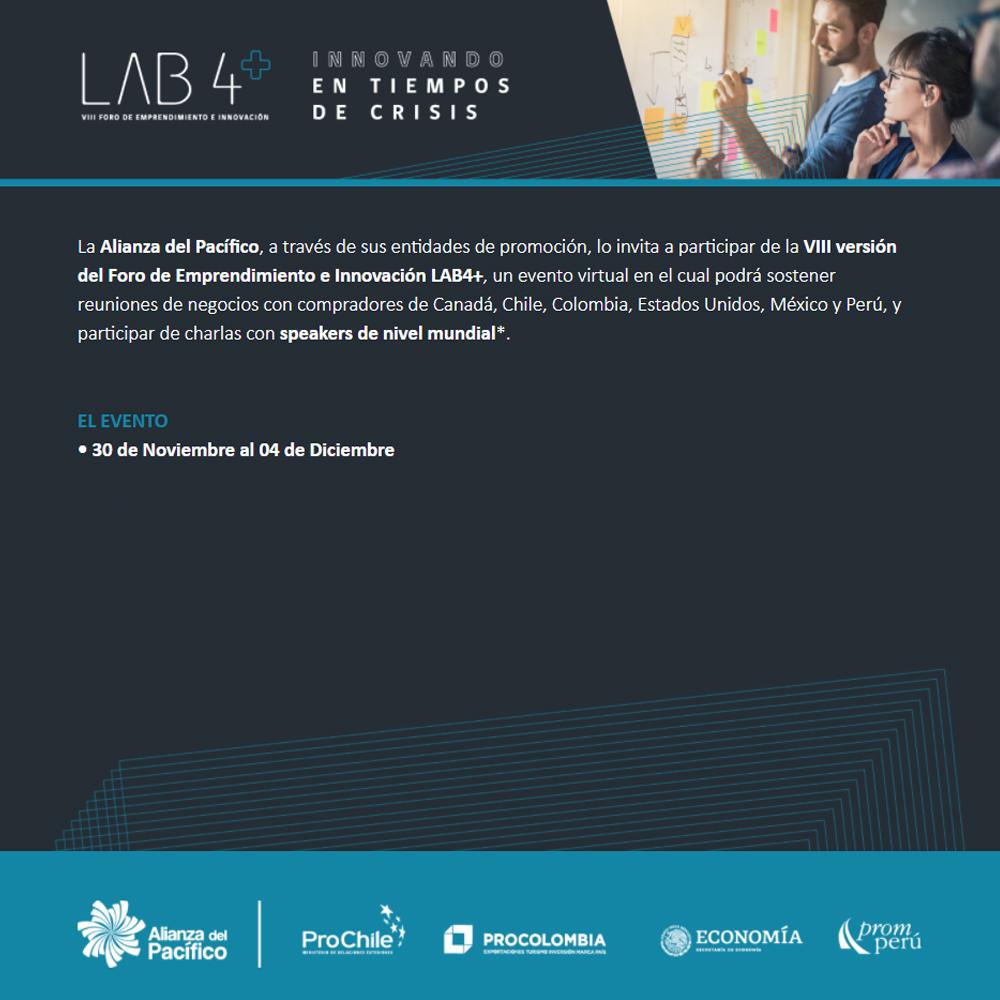 LAB4+ Rueda de Negocios