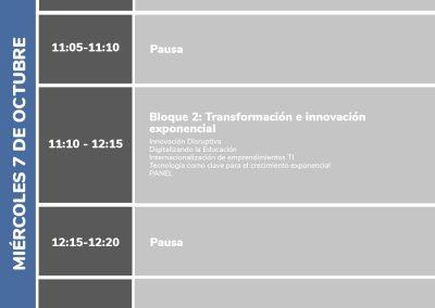 Programa AD Summit 2020 Miércoles