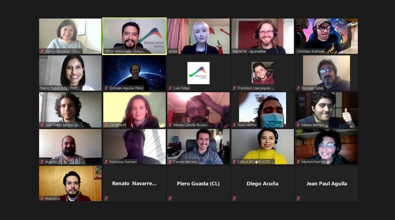 Webinar Videojuegos noticia