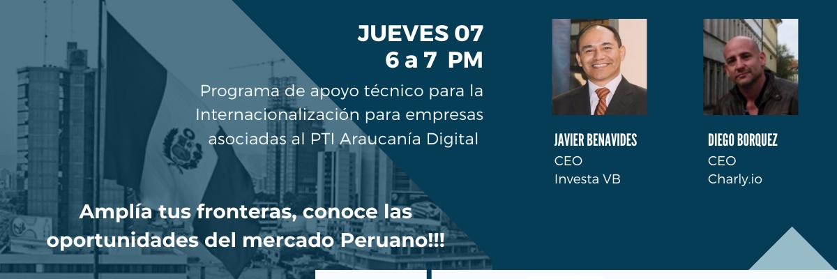 Webinar de Internacionalización: Perú