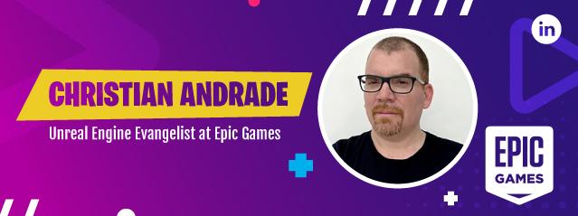 Webinar videojuegos - Speaker Christian Andrade