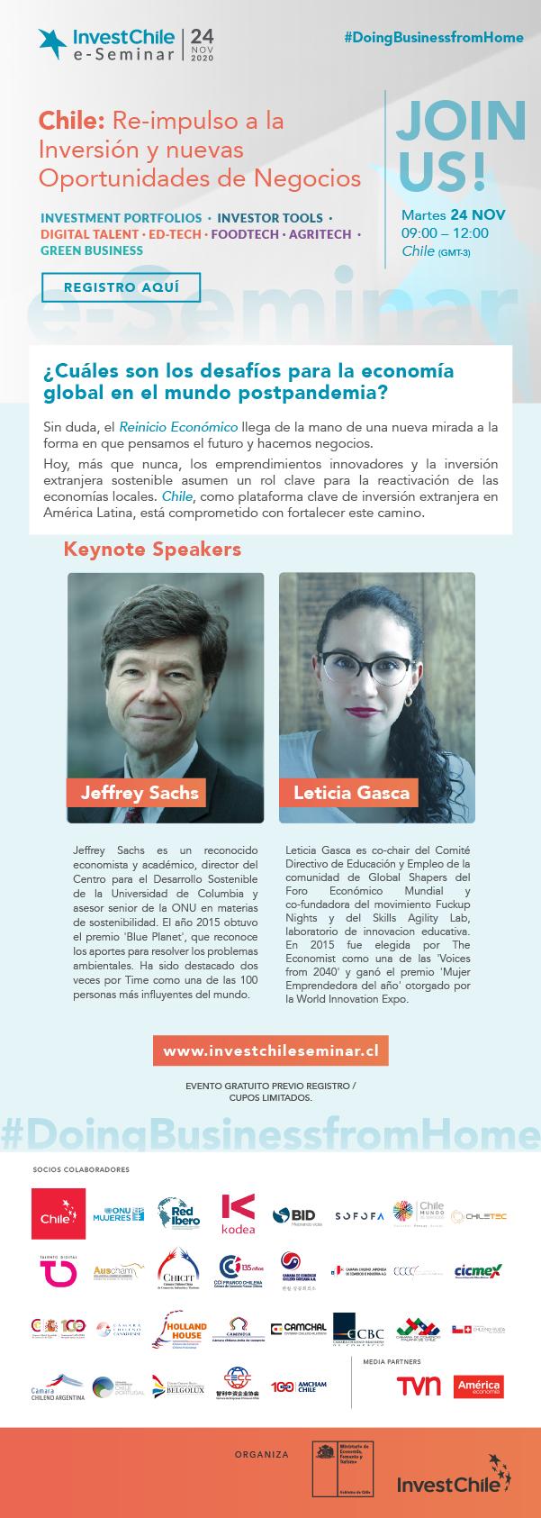 e-Seminar de InvestChile